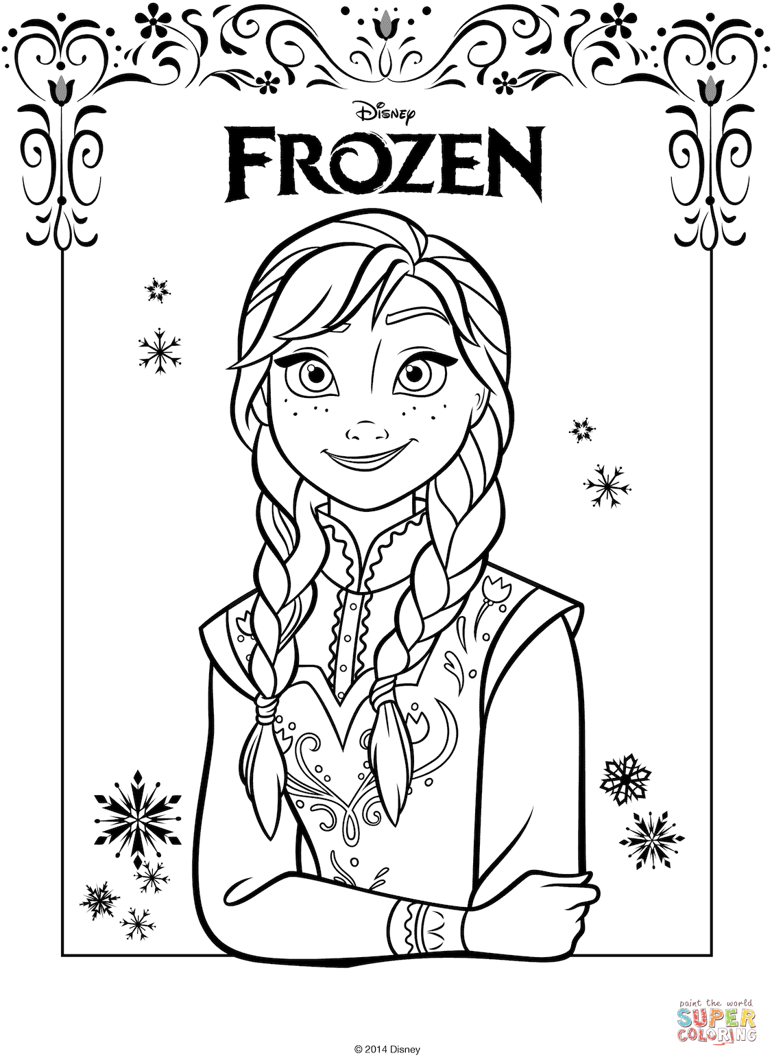 Anna From The Frozen Movie From The Frozen