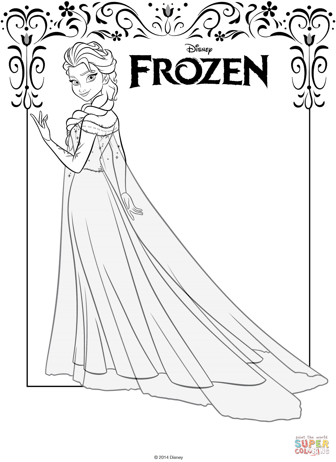 Elsa From Frozen From The Frozen